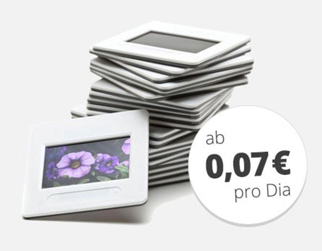 Dias digitalisieren ab 7 Cent