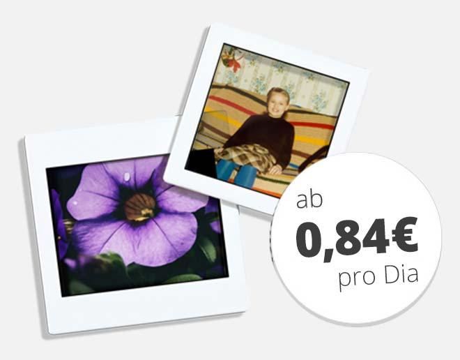 Mittelformate digitalisieren ab 0,84 € pro Bild