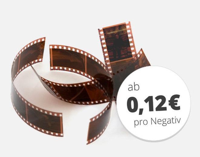 Negative digitalisieren bei MEDIAFIX für 12 Cent