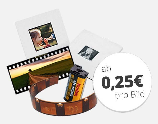 Sonderformate ab 0,25 € pro Bild